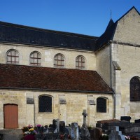 L'église vue du sud-ouest (2018)