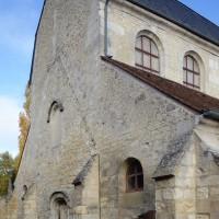 La façade vue du sud-ouest (2018)
