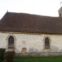 La chapelle vue du nord (2018)