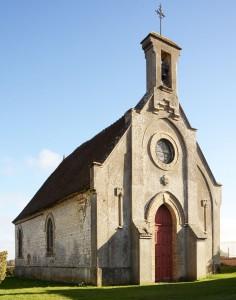La chapelle vue du nord-ouest (2018)