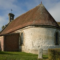 La chapelle vue du sud-est (2018)