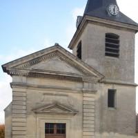 L'église vue de l'ouest (2018)