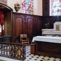L'autel et les boiseries du choeur (2005)