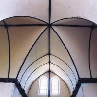 La charpente à la croisée du transept (2005)