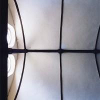La charpente du bras sud du transept (2005)