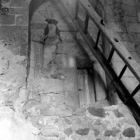 Baie du premier étage du clocher (1996)