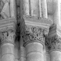 Chapiteaux des parties hautes de la nef (1996)