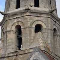 Le troisième étage du clocher vu du sud-ouest (2019)
