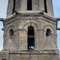 Le troisième étage du clocher vu de l'ouest (2019)