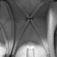 La voûte de la troisième travée de la nef (1996)