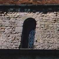 Fenêtre et appareil en arêtes de poisson de la nef (2002)