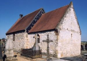 La chapelle, vue du sud-est (2003)