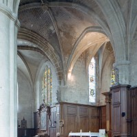 Vue partielle du choeur et de l'abside vers le nord-est (2007)