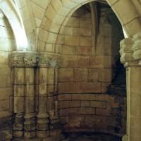 Absidiole nord de la crypte (2008)