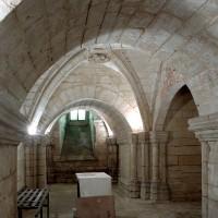 La crypte vue vers le nord (2008)