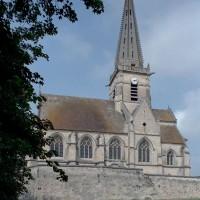 L'église vue du sud (2007)