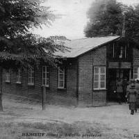 L'église provisoire après la Grande Guerre