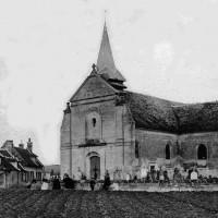 L'église en 1906