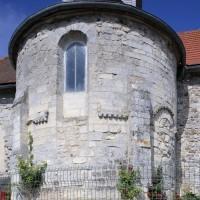 L'abside vue de l'est (2019)