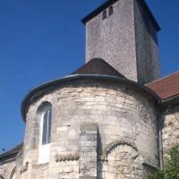 L'abside vue du nord-est (1996)