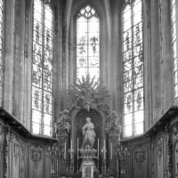 L'abside vue vers l'est
