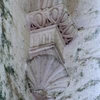 Cul-de-lampe à la retombée de la voûte d'un des croisillons (2005)