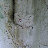 Cul-de-lampe à la retombée de la voûte de la croisée du transept (2005)