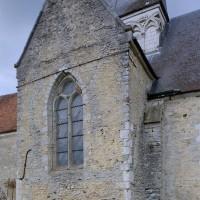 Le bras nord du transept vu du sud-ouest (2005)