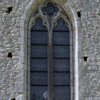 La fenêtre nord du bras nord du transept (2005)