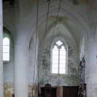 Le bras nord du transept vu vers le nord (2005)