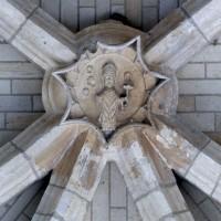 Clef de voûte de l'abside (2007)
