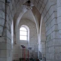 La chapelle nord du choeur vue vers l'est (2007)