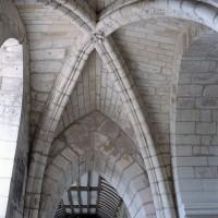 Voûte d'ogives du bas-côté sud du choeur vue vers l'ouest (2007)