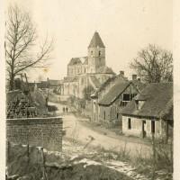 L'église et le village vers 1915