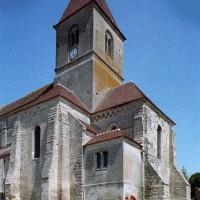 Le transept et le choeur vus du sud-est (2006)