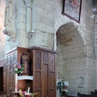 Vue partielle du bras sud du transept vers le sud-est (2007)