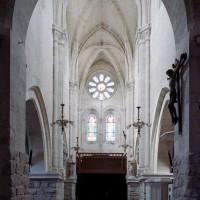 La nef vue vers l'ouest (2007)