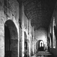 Le bas-côté sud de la nef vu vers l'est