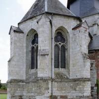 L'abside vue du nord-est (2004)
