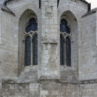L'abside vue du sud-est (2004)