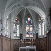 L'abside vue vers l'est (2005)