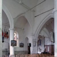 La nef vue vers le nord-est (2005)