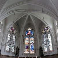 La partie supérieure de l'abside (2005)