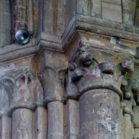 Chapiteaux au sudd de l'arcade ouest de l'abside (2006)