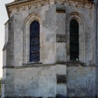 L'abside vue du nord-est (2006)