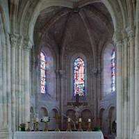 L'abside vue vers l'est (2006)