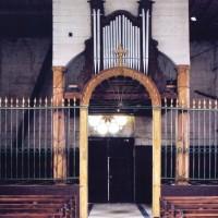 L'ancienne grille de choeur, la tribune et l'orgue (2004)