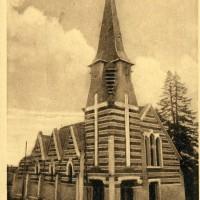 L'église en 1937