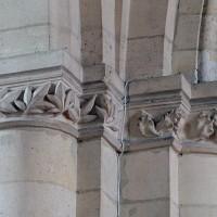 Chapiteaux de la base du clocher (2008)
