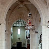 La base du clocher vue vers le nord-ouest (2008)